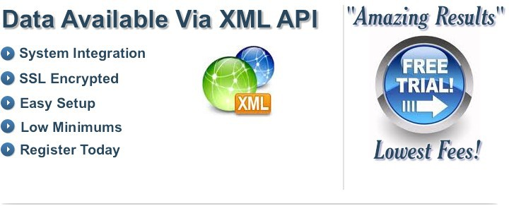 XML Data Available