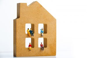 How is 'household' defined?